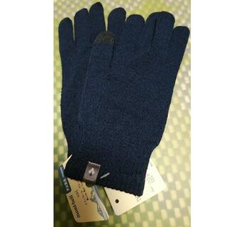 モンベル(mont bell)のmont-bell 手袋 モンベル メリノウール グローブ タッチ Lサイズ (手袋)