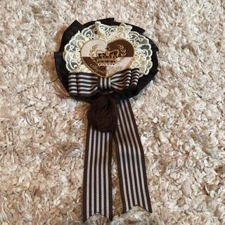 アンジェリックプリティー(Angelic Pretty)のAngelic Pretty Queen Chocolate ロゼット(ブローチ/コサージュ)