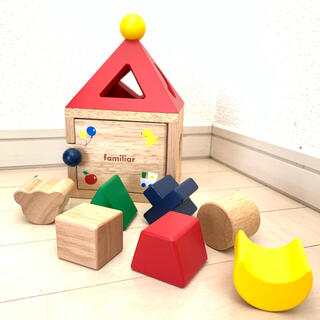 ファミリア(familiar)のfamiliar おうちパズル(積み木/ブロック)