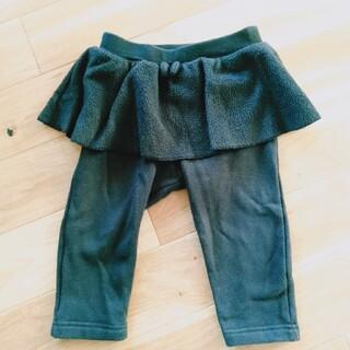 ユニクロ(UNIQLO)のユニクロ ズボン 冬用 80cm パンツ 女の子用(パンツ)
