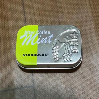 スターバックスコーヒー(Starbucks Coffee)のスタバ アフターミント マスカット缶のみ(小物入れ)