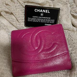 シャネル(CHANEL)のシャネル✴︎三つ折り財布✴︎CHANEL(折り財布)