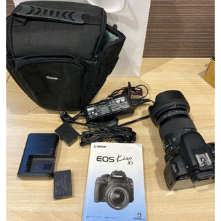 キヤノン(Canon)のcanon EOS Kiss x7 17mm-70mmレンズ デジタル一眼(デジタル一眼)