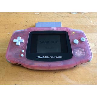 ゲームボーイアドバンス(ゲームボーイアドバンス)のゲームボーイアドバンス本体(携帯用ゲーム機本体)