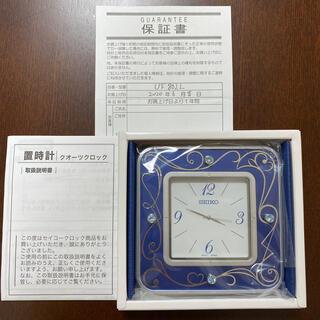 セイコー(SEIKO)のSEIKO☆置時計☆クオーツロック☆保証証付き(置時計)