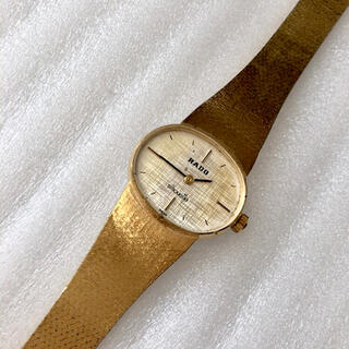 ラドー(RADO)のRADO  Silhouette レディース手巻き腕時計 稼動品(腕時計)