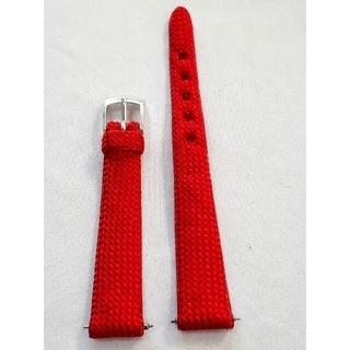マルマン(Maruman)の商品NO.33ラグ幅15mm【新品・バネ棒付】Maruman♪ナイロン赤色ベルト(その他)