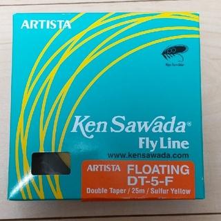 ティムコ(Tiemco)のFLY LINE FLOATING DT-5-F (KEN SAWDA)(釣り糸/ライン)
