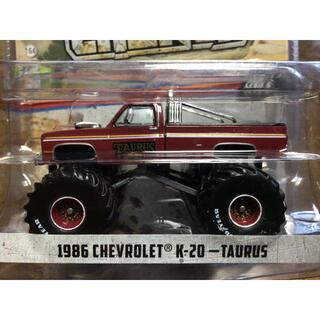 シボレー(Chevrolet)の1/64 グリーンライト KINGS 1986 シボレー K-20 TAURUS(ミニカー)