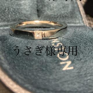 ハリーウィンストン(HARRY WINSTON)のハリーウィンストン ダイヤ プラチナリング(リング(指輪))