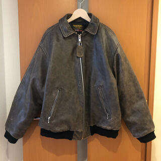 シュプリーム(Supreme)のSupreme Vanson Worn Leather Jacket(レザージャケット)