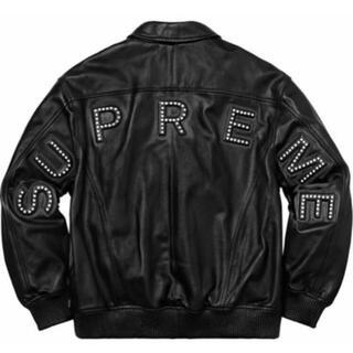 シュプリーム(Supreme)のsupreme leather arc jacket S レザージャケット(レザージャケット)