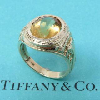 ティファニー(Tiffany & Co.)のVintage Tiffany 14K Stone Signet Ring(リング(指輪))