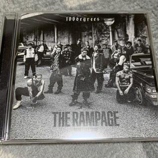 ザランページ(THE RAMPAGE)のTHE RAMPAGE  100degrees(ポップス/ロック(邦楽))