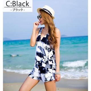新作ブラック XL(13号) 4点セット(水着)