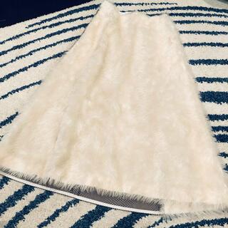 バーニーズニューヨーク(BARNEYS NEW YORK)のSupport Surface ファースカート(ロングスカート)