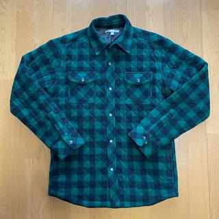 ユニクロ(UNIQLO)のUniqlo キルティングシャツ 炭治郎カラー(Tシャツ/カットソー(半袖/袖なし))