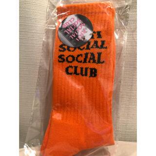 ANTI - Anti Social Social Club 靴下