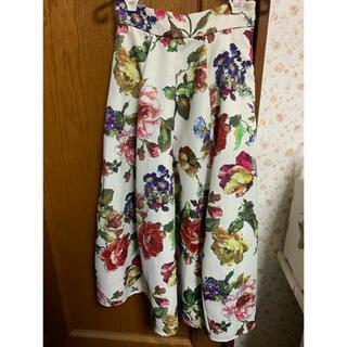 リミットレスラグジュアリー(LIMITLESS LUXURY)の花柄スカート(ロングスカート)