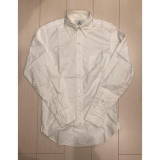 ブラックフリース(BLACK FLEECE)のブルックスブラザーズ ブラックフリース ホワイトシャツ(シャツ)