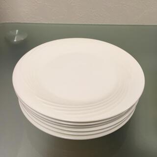 ミカサ(MIKASA)のMIKASA ミカサ 中皿 白 6枚 ボーンチャイナ 日本製(食器)