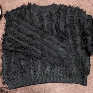 スピンズ(SPINNS)のニット 黒ニット SPINNS(ニット/セーター)