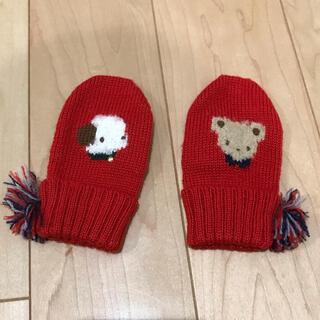 familiar - ファミリア ベビーニット手袋