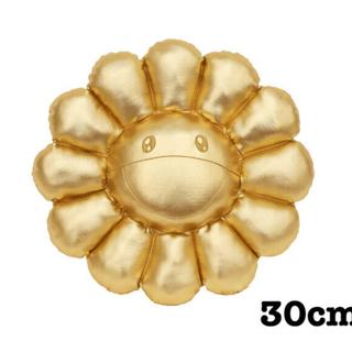 村上隆フラワークッションゴールド30cm(クッション)