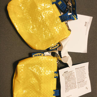 イケア(IKEA)の原宿限定☆IKEA☆キーホルダーポーチ🌟2個セット(小物入れ)
