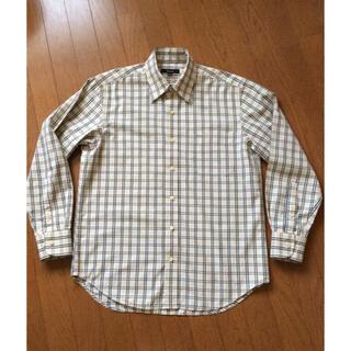 フィッチェ(FICCE)のメンズ チェックシャツ  ficce フィッチェ  Mサイズ  綿100%(シャツ)