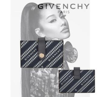 ジバンシィ(GIVENCHY)のGivenchy ネイビー Diagonal ロゴウォレット(財布)