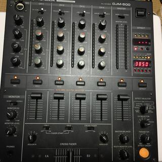 pioneer djm500 ミキサー(DJミキサー)