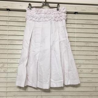 コムデギャルソン(COMME des GARCONS)のtricot COMMEdesGARCONS フリルデザイン 巻きスカート(ひざ丈スカート)
