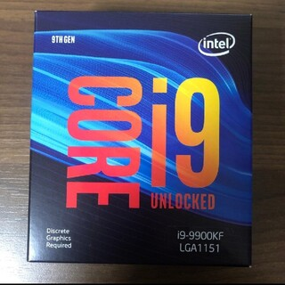 i9 9900kf 新品(PCパーツ)