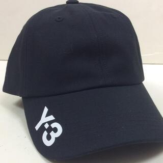 ワイスリー(Y-3)のY-3 コットンキャップ 黒 ワイスリー NEW(キャップ)
