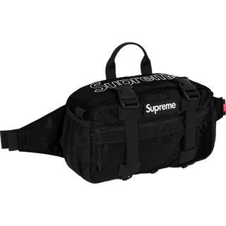 シュプリーム(Supreme)の新品 19AW Waist Bag Black シュプリーム ウエストバック(ウエストポーチ)