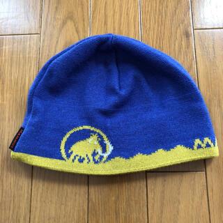 マムート(Mammut)のマムートニット帽(登山用品)