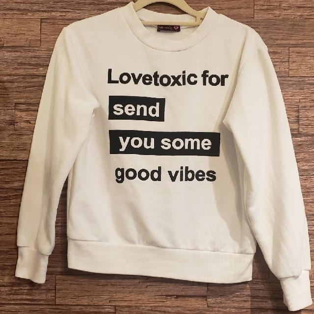 lovetoxic(ラブトキシック)のきのこ様専用Lovetoxicトレーナー キッズ/ベビー/マタニティのキッズ服女の子用(90cm~)(その他)の商品写真