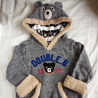 ダブルビー(DOUBLE.B)の100 ダブルB なりきりトレーナー(Tシャツ/カットソー)