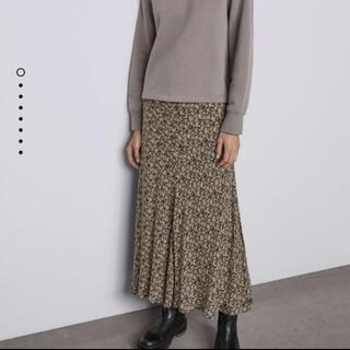 ザラ(ZARA)のZARA ザラ マキシ 花柄スカート(ロングスカート)