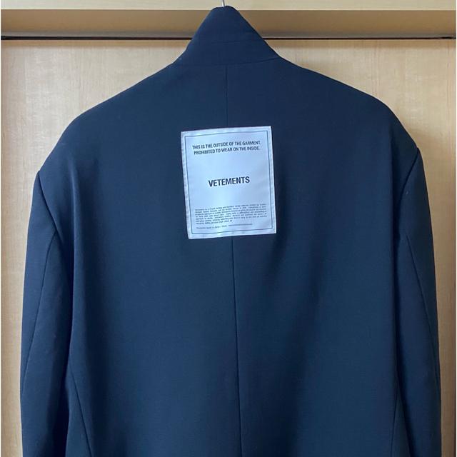 Balenciaga(バレンシアガ)の期間限定 VETEMENTS テーラードジャケット メンズのジャケット/アウター(テーラードジャケット)の商品写真
