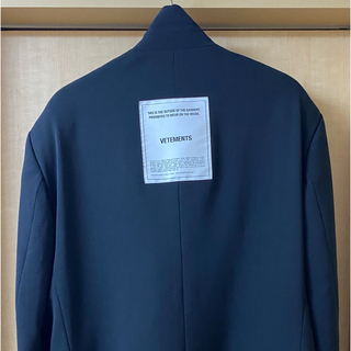 Balenciaga - 期間限定 VETEMENTS テーラードジャケット