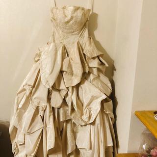 アイボリーウエディングドレス(ウェディングドレス)