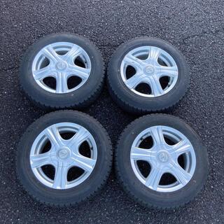 グッドイヤー(Goodyear)のスタッドレスタイヤセット / 165/70R14 グッドイヤー (タイヤ・ホイールセット)