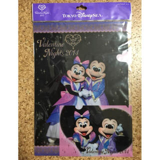 ディズニー(Disney)のディズニー バレンタイン 限定 クリアファイル セット 新品(ファイル/バインダー)