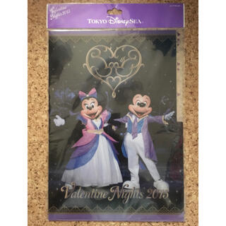ディズニー(Disney)のディズニー バレンタイン 限定 クリアファイル 新品(ファイル/バインダー)