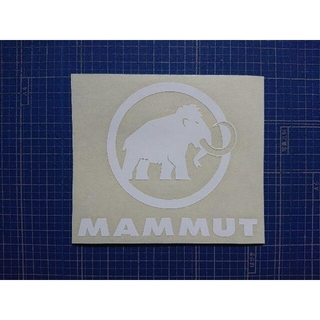 マムート(Mammut)のカッティングシート加工(登山用品)