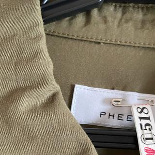 PHEENY - PHEENY/フィーニー ミリタリージャケット 美品 クリーニング済