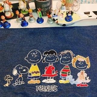 ピーナッツ(PEANUTS)のスヌーピー刺繍マルチマット(日用品/生活雑貨)