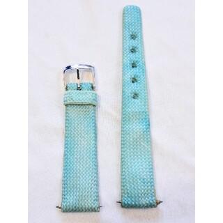 マルマン(Maruman)の商品NO.121♪ラグ幅18.5mm【新品・バネ棒付】マルマン♪薄い青色ナイロン(その他)